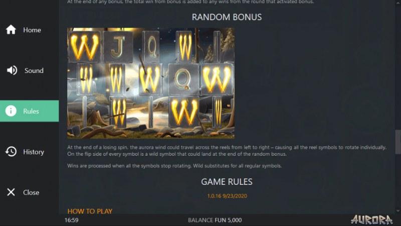Aurora :: Random Bonus