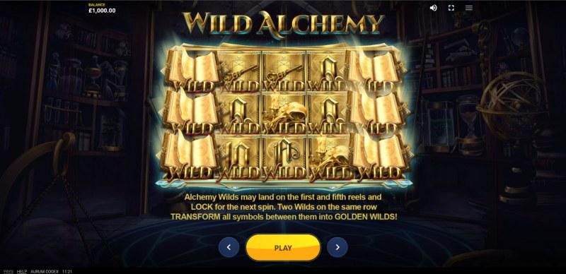 Aurum Codex :: Wild Symbol Rules