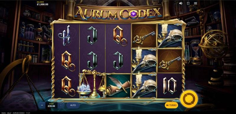 Aurum Codex :: Main Game Board