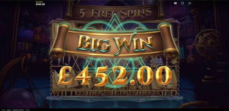 Aurum Codex :: Big Win