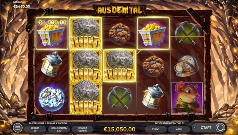 Aus Dem Tal :: Multiple winning paylines