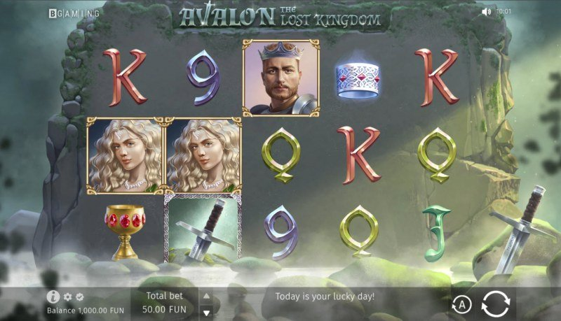 Avalon The Lost Kingdom :: Base Game Screen