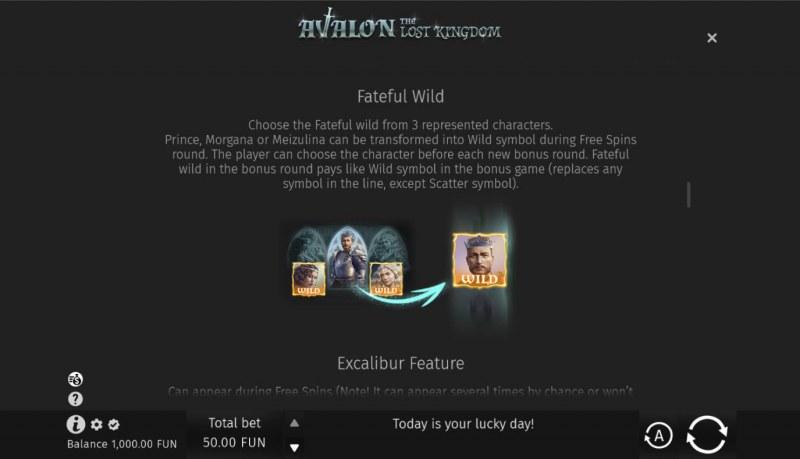 Avalon The Lost Kingdom :: Fateful Wild