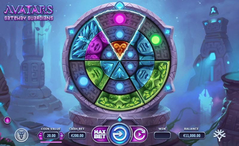 Play slots at Avalon78: Avalon78 featuring the Video Slots Avatars Gateway Guardians with a maximum payout of $505,000
