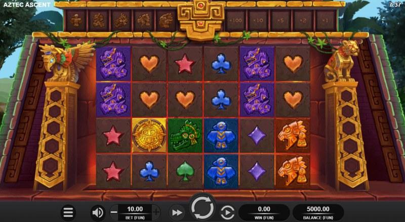 Aztec Ascent :: Base Game Screen