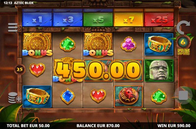 Aztec BLOX :: Big Win