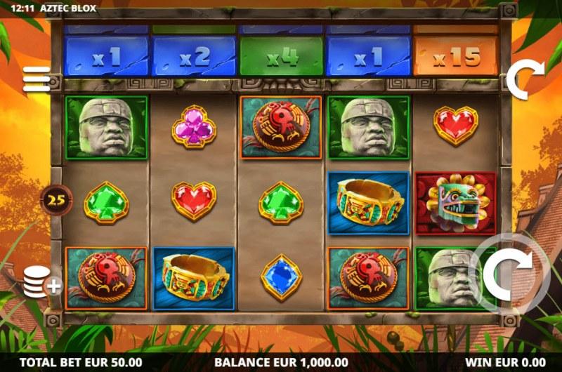 Aztec BLOX :: Main Game Board