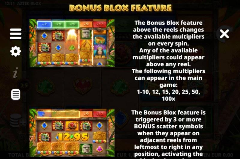 Aztec BLOX :: Bonus Blox Feature
