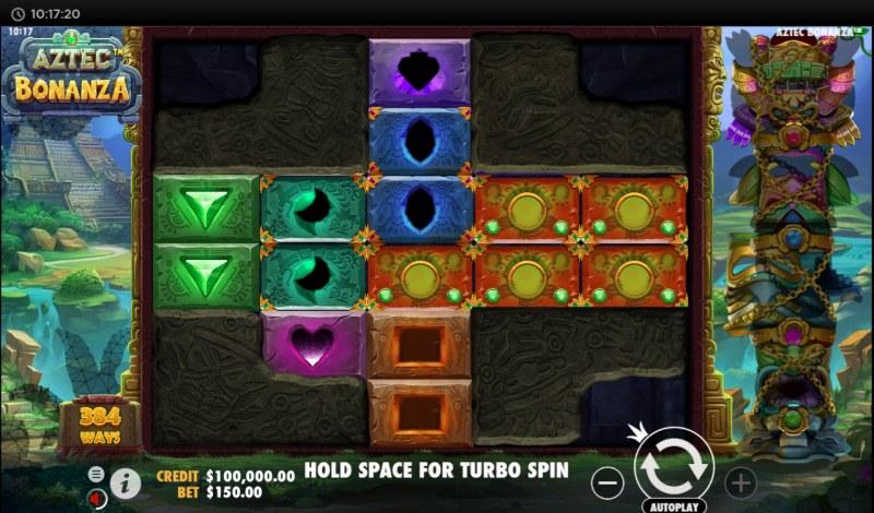Aztec Bonanza :: Main Game Board
