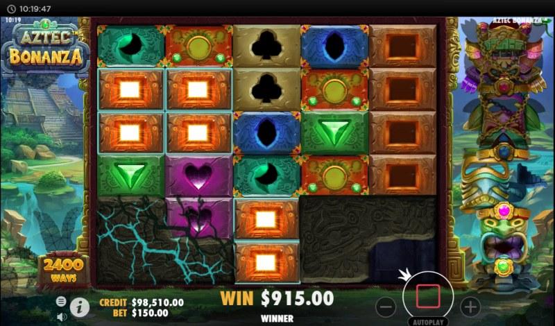 Aztec Bonanza :: Multiple winning combinations