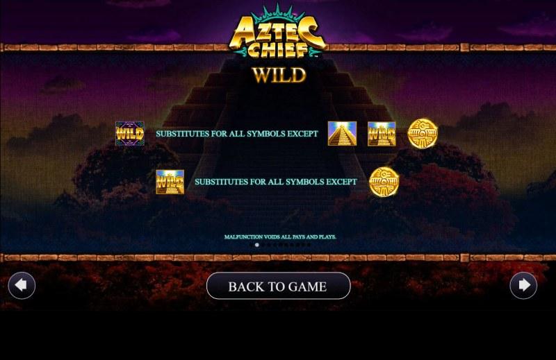 Aztec Chief :: Wild Symbol Rules