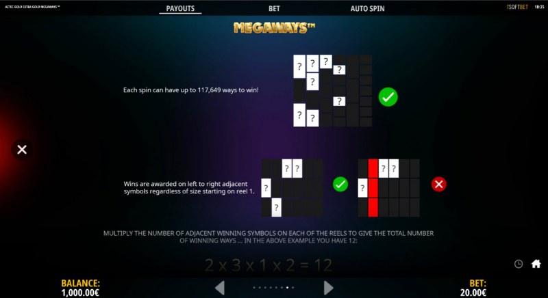 Aztec Gold Extra Gold Megaways :: Megaways