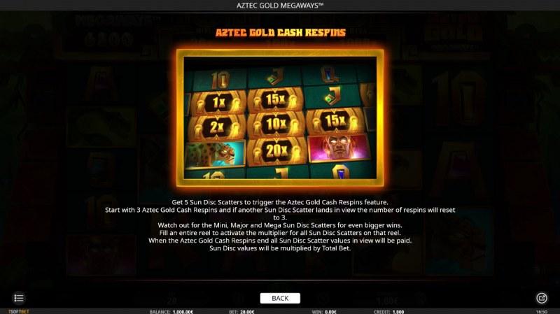 Aztec Gold Megaways :: Respins
