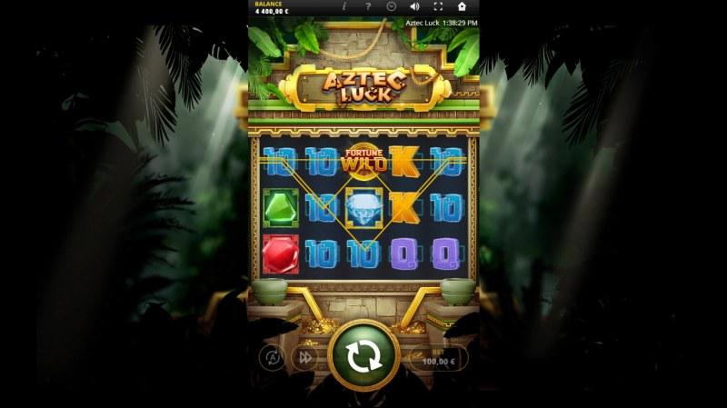 Aztec Luck :: Multiple winning paylines