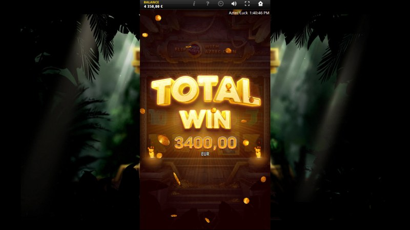 Aztec Luck :: Total Free Spins Payout