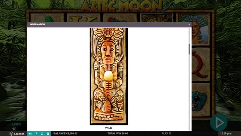 Aztec Moon Deluxe :: Wild Symbol