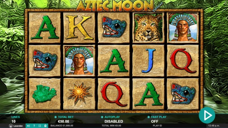 Play slots at Yako Casino: Yako Casino featuring the Video Slots Aztec Moon Deluxe with a maximum payout of $25,000