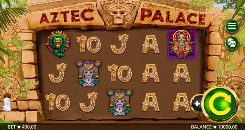 Aztec Palace :: Main Game Board