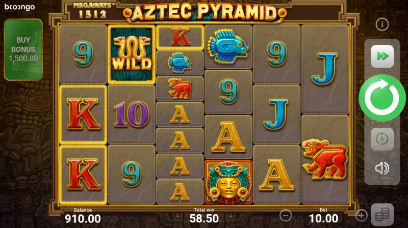 Aztec Pyramid Megaways :: Multiple winning combinations