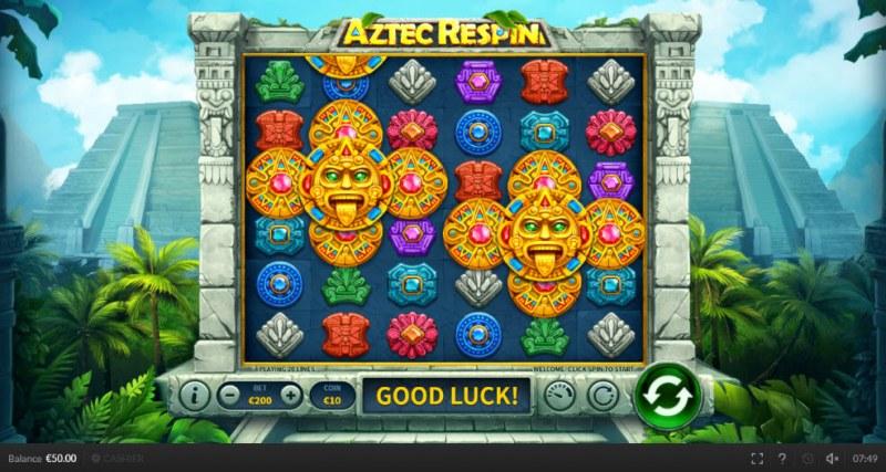 Aztec Respin :: Main Game Board