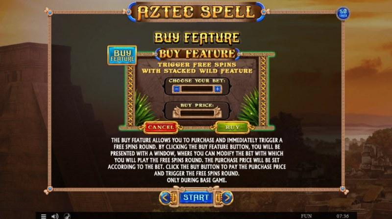 Aztec Spell :: Buy Feature