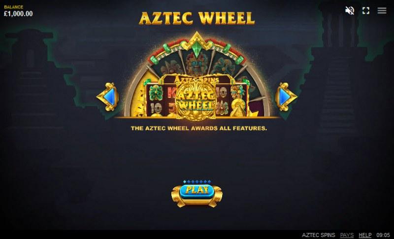 Aztec Spins :: Aztec Wheel