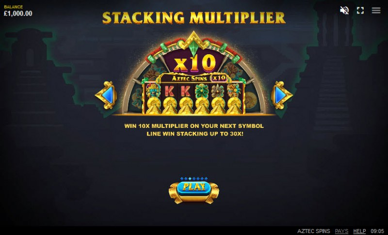 Aztec Spins :: Stacking Multiplier