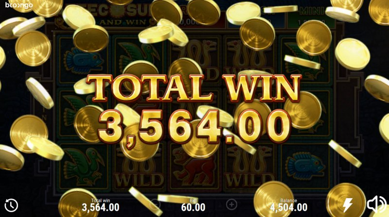 Aztec Sun Hold and Win :: Total Free Spins Payout
