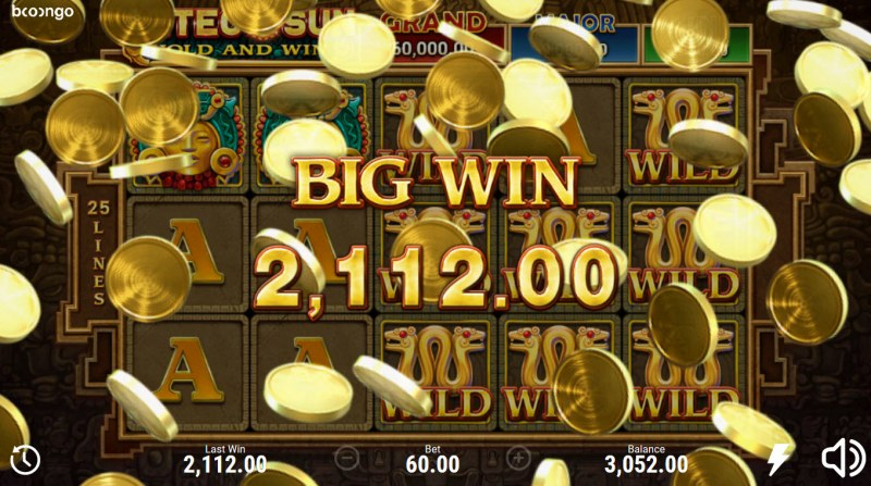 Aztec Sun Hold and Win :: Big Win