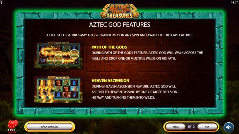 Aztec Temple Treasures :: Feature Rules