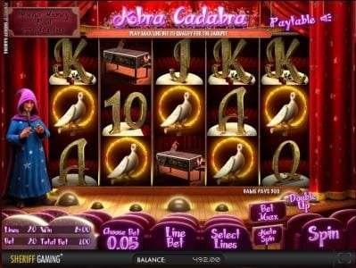 Play slots at Casino Kaiser: Casino Kaiser featuring the Video Slots Abra Cadabra with a maximum payout of $2,500
