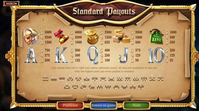 Play slots at Big Dollar: Big Dollar featuring the Video Slots A Christmas Carol with a maximum payout of $2,565,000