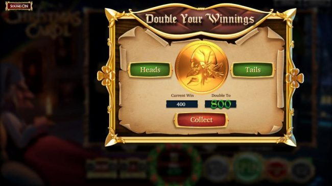 123 Vegas Win featuring the Video Slots A Christmas Carol with a maximum payout of $2,565,000
