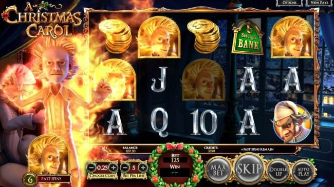 Play slots at Box24: Box24 featuring the Video Slots A Christmas Carol with a maximum payout of $2,565,000