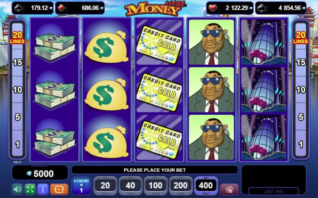 Play slots at Bettilt: Bettilt featuring the Video Slots Action Money with a maximum payout of $400,000