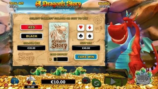 Play slots at Sapphire Rooms: Sapphire Rooms featuring the Video Slots A Dragon's Story with a maximum payout of $125,000
