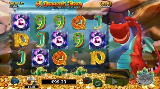 6 Black featuring the Video Slots A Dragon's Story with a maximum payout of $125,000