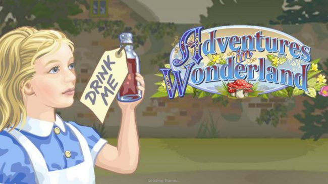 Adventures In Wonderland :: Splash screen - game loading