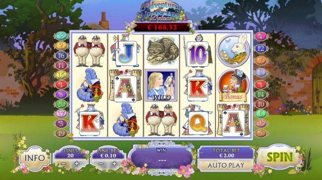 Adventures In Wonderland :: Main Game Board