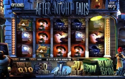 21 Grand featuring the Video Slots After Night Falls with a maximum payout of $625