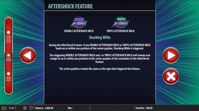 Aftershock :: Feature Rules