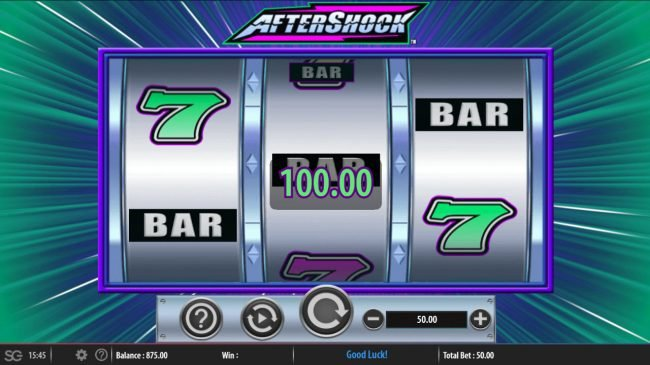 Aftershock :: A winning three of a kind