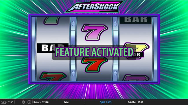 Aftershock :: Feature Activated