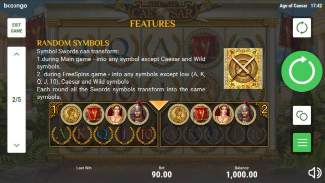 Age of Caesar :: Mystery Symbols