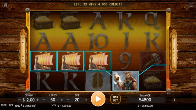 Age of Vikings :: Four of a kind