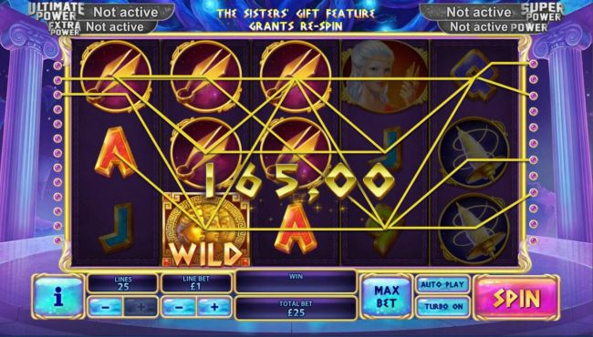 Titanbet.it featuring the Video Slots Age of the Gods Fate Sisters with a maximum payout of Jackpot