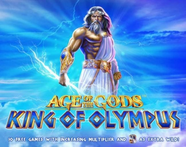 Magic Box featuring the Video Slots Age of the Gods King of Olympus with a maximum payout of Jackpot