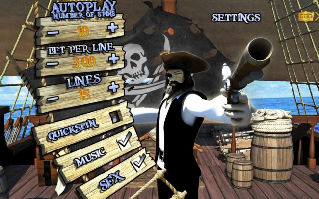 All Wins Casino featuring the Video Slots Ahoy Matey with a maximum payout of $30,000