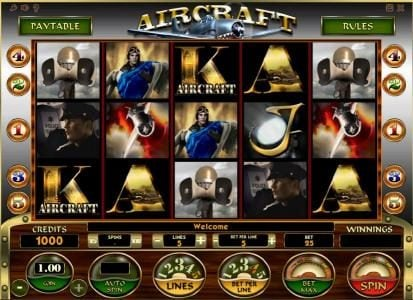 Play slots at Joe Fortune: Joe Fortune featuring the Video Slots Aircraft with a maximum payout of $40,000