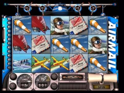 Play slots at Crypto Slots: Crypto Slots featuring the Video Slots Airmail with a maximum payout of $1,000